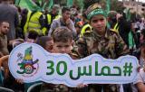 فاصل من خطاب رئيس المكتب السياسي لحركة حماس خلال مهرجان الانطلاقة الثلاثين