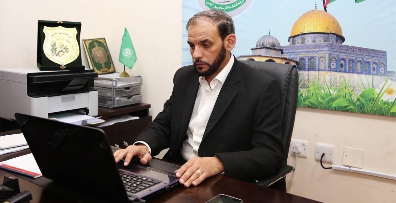 الناطق باسم حركة حماس حسام بدران
