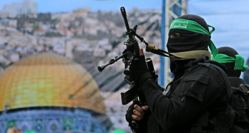مسير عسكري مدينة غزة