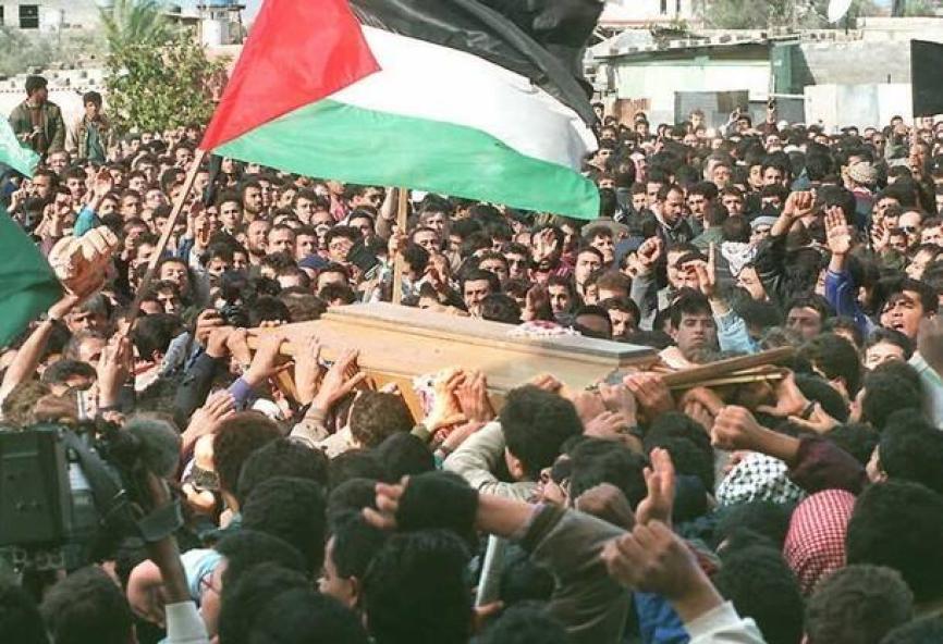 جنازة الشهيد القائد المهندس يحيى عياش