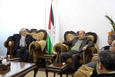 قيادة حماس تلتقي وفدًا قياديًا من الجبهة الديمقراطية