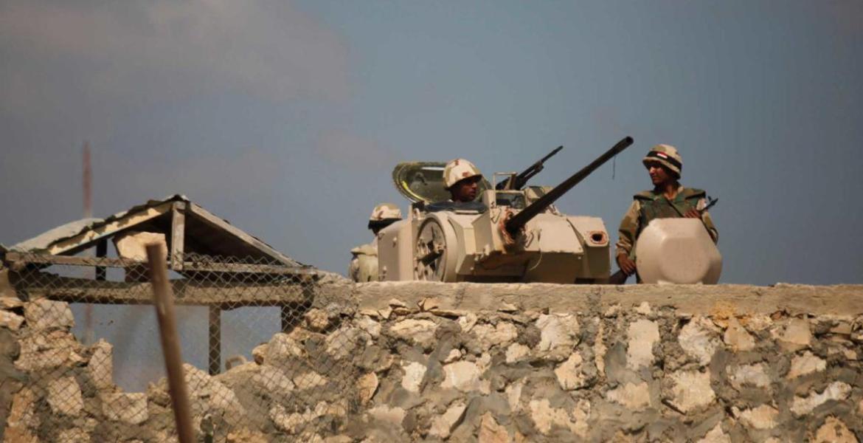 الجيش المصري في سيناء (أرشيف)