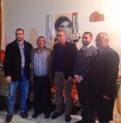 خلال زيارة وفد حماس لعائلة الأسير يحيى سكاف