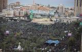 مهرجان انطلاقة حركة حماس الحادية والثلاثين بمدينة غزة