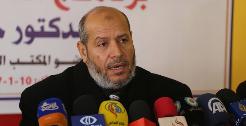 خليل الحية، عضو المكتب السياسي لحركة حماس