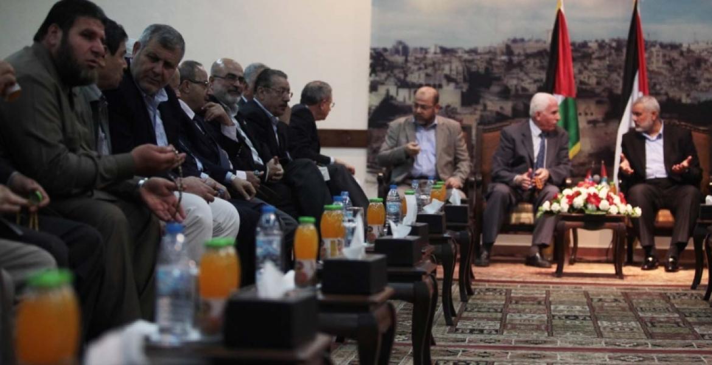 لقاء يجمع الفصائل الفلسطينية (أرشيف)