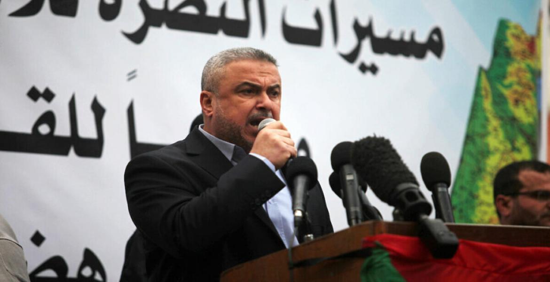 القيادي في حركة حماس إسماعيل رضوان