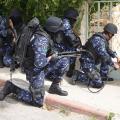 عناصر الأجهزة الأمنية الفلسطينية بالضفة الغربية المحتلة