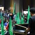 مهرجان انتخابي للكتلة الاسلامية بجامعة بيرزيت