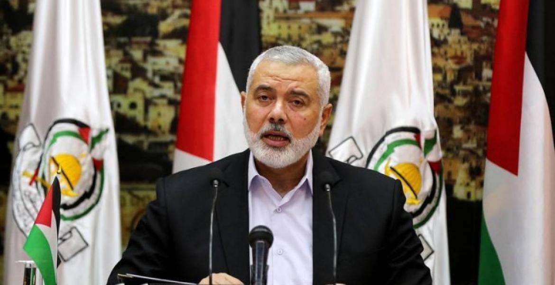 رئيس المكتب السياسي للحركة إسماعيل هنية