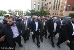 زيارة رئيس المكتب السياسي لحركة المقاومة الإسلامية