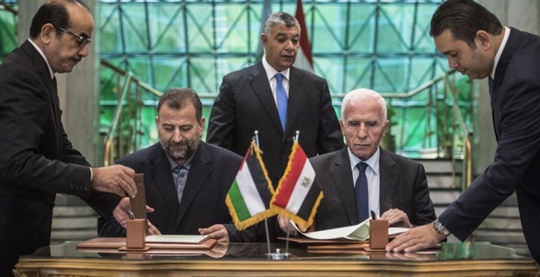 أرشيف، لقاء سابق جمع بين فصائل فلسطينية برعاية مصرية في القاهرة