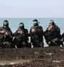 عناصر من الكوماندوز البحري التابع لكتائب القسام