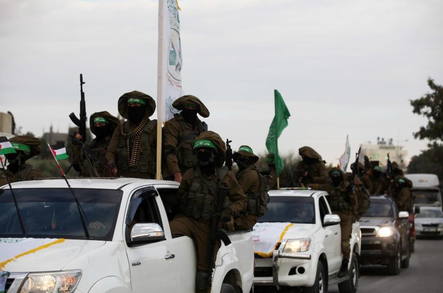 مسير عسكري شمال القطاع