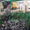 احتفال حاشد للكتلة الإسلامية في الضفة الغربية