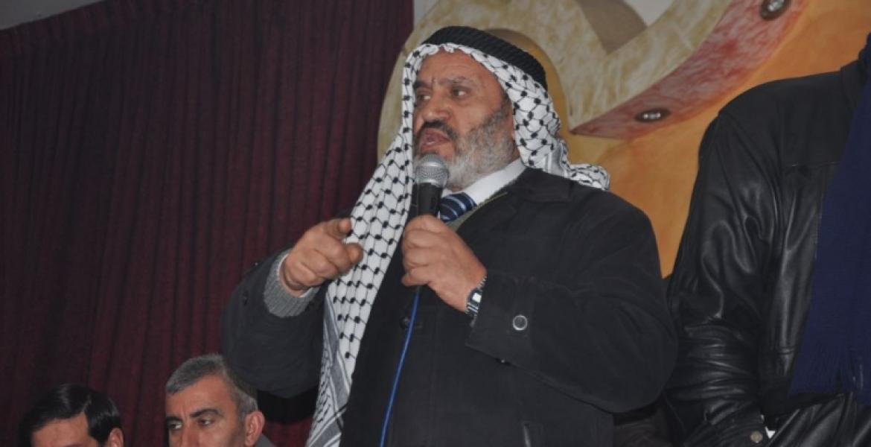 النائب في التشريعي الدكتور إبراهيم أبو سالم خطيب ومدرس في المسجد الأقصى