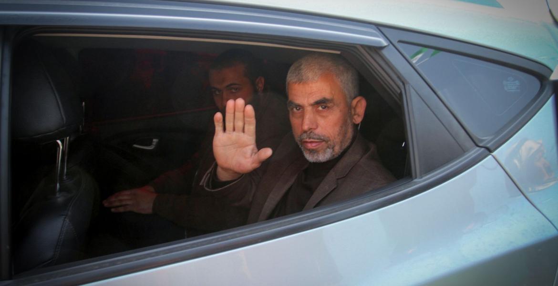 رئيس حركة حماس في قطاع غزة يحيى السنوار