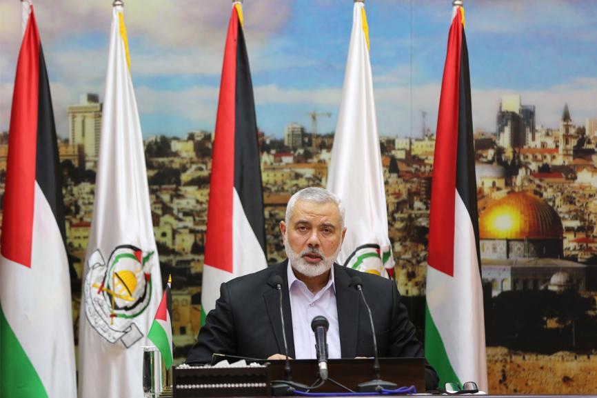 كلمة رئيس المكتب السياسي إسماعيل هنية رفضا لانعقاد المجلس الوطني بدون توافق، بتاريخ 30/4/2018