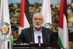 كلمة رئيس المكتب السياسي إسماعيل هنية رفضا لانعقاد المجلس الوطني بدون توافق، بتاريخ 30/4/2018.