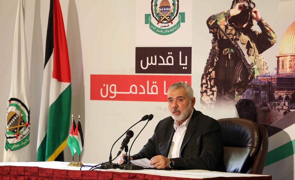 خطاب رئيس المكتب السياسي لحركة حماس إسماعيل هنية حول أولويات الحركة خلال المرحلة القادمة
