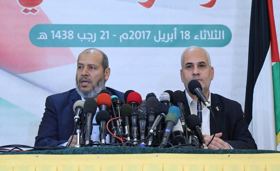 كلمة د. خليل الحية في المؤتمر الصحفي رداً على تهديدات عباس لغزة