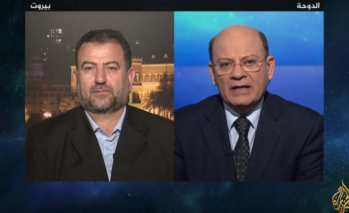 لقاء نائب رئيس المكتب السياسي لحركة حماس الأخ صالح العاروري في برنامج بلاحدود