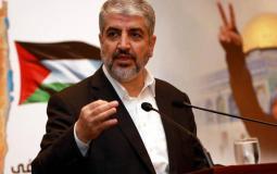 رئيس حركة حماس في الخارج خالد مشعل