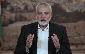 رئيس المكتب السياسي لحركة حماس إسماعيل هنية