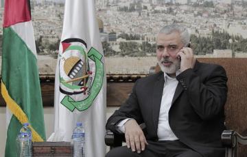 """رئيس المكتب السياسي لحركة المقاومة الإسلامية """"حماس"""" إسماعيل هنية"""