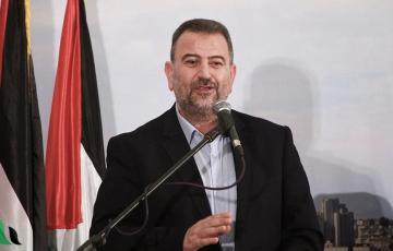 """نائب رئيس المكتب السياسي لحركة المقاومة الإسلامية """"حماس"""" صالح العاروري"""