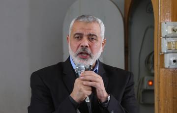 """إسماعيل هنية رئيس المكتب السياسي لحركة المقاومة الإسلامية """"حماس"""""""