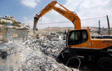 هدم الاحتلال منزل فلسطيني بالقدس المحتلة (أرشيف)