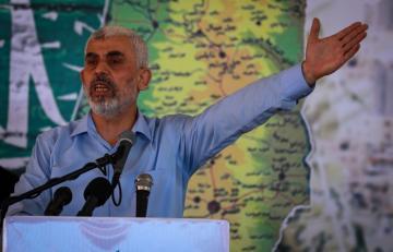 يحيى السنوار رئيس حركة حماس بغزة