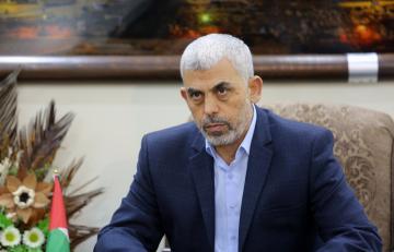 """رئيس حركة المقاومة الإسلامية """"حماس"""" في قطاع غزة يحيى السنوار"""