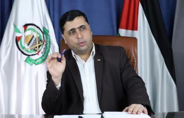 """الناطق باسم حركة المقاومة الإسلامية """"حماس"""" عبد اللطيف القانوع"""