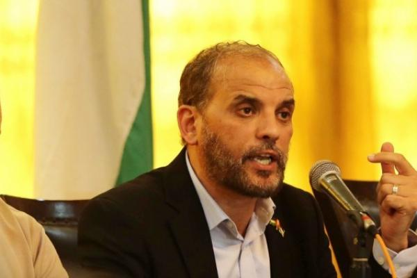 حسام بدران، عضو المكتب السياسي لحركة المقاومة الإسلامية حماس ورئيس مكتب العلاقات الوطنية