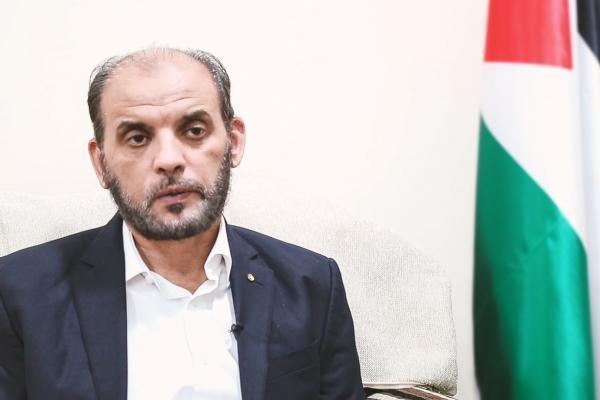 عضو المكتب السياسي لحركة حماس حسام بدران