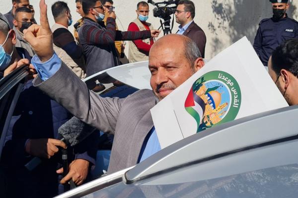 رئيس قائمة القدس موعدنا عضو المكتب السياسي لحركة حماس د.خليل الحية