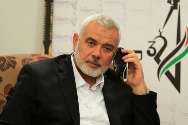 إسماعيل هنية رئيس المكتب السياسي لحركة حماس