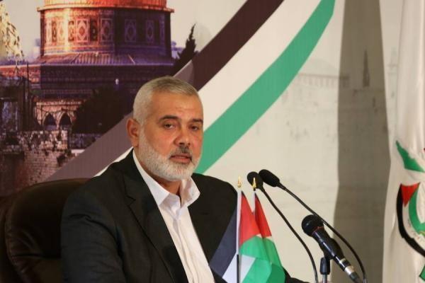 رئيس المكتب السياسي لحركة حماس إسماعيل هنية.
