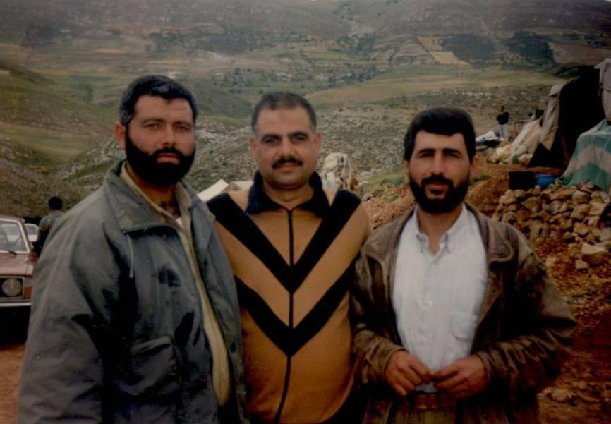 Ismail Haniya (left)