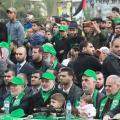 Hamas leaders at Hamas 31st anniversary