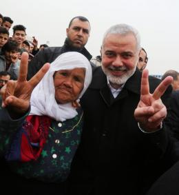 One-Million Protest of Land and Return, Top Hamas Officials Participate in the First Anniversary of Great Return March