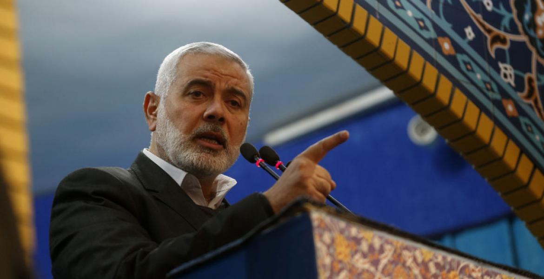 Head of Hamas Political Bureau Ismail Haniya