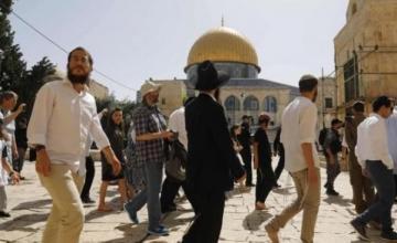 Colonial settlers storm Masjid Al-Aqsa